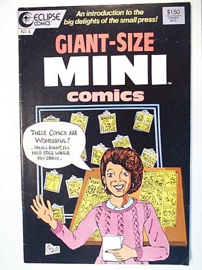 Giant-Size Mini Comics 4 February 1987 Eclipse Comics