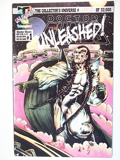 Doctor Chaos 1 November 1993 Triumphant Comics UNLEASHED!