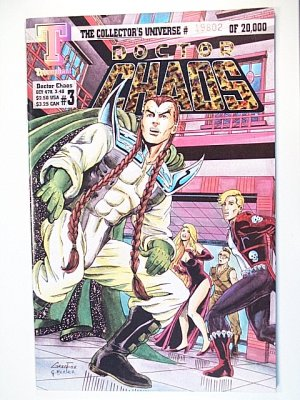 Doctor Chaos 3 January 1994 Triumphant Comics - A classic example of an Indie comic!