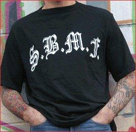 "SickBoy Motorcycles Men�s Tee ~Short Sleeve Biker T Shirt ""S.B.M.F."""