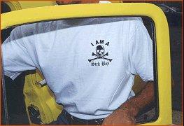 "Sick Boy Motorcycles Men�s Tee ~""I am a SickBoy""~ Short Sleeve Biker T Shirt ~White~XL"