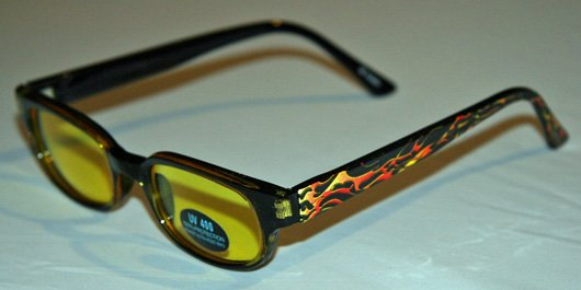 ~Flame On~ Sunglasses w/ UV 400 protection ~SickBoy Motorcycles