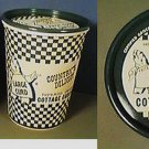 3 COTTAGE CHEESE CONTAINERS CERTIFIED COUNTRY DELIGHT NEW UNUSED 1950s