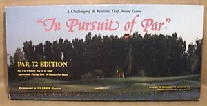 IN PURSUIT OF PAR A CHALLENGING GOLF GAME 1987