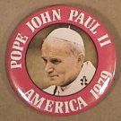 POPE JOHN PAUL II AMERICA 1979 TOUR PIN