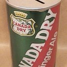 CANADA DRY GINGER ALE TAMPA BAY BUCCANEERS POP CAN 1970s