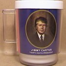 JIMMY CARTER 39th PRESIDENT of the UNITED STATES THERMAL MUG 1970s 1980s