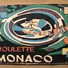 MONACO ROULETTE BETTING GAMBLING PARTY GAME SET TOY ITALY 1960s 1970s GAMBLE BET
