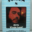 Airto Virgin Land 8 Track Tape Salvation Records Virginland New Sealed 1974