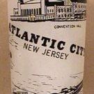 ATLANTIC CITY GLASS NEW JERSEY  HAZEL ATLAS SOUVENIR 1950s 1960s MISS AMERICA