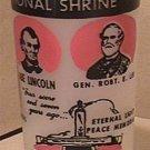 GETTYSBURG GLASS SHRINE CIVIL WAR LINCOLN LEE MEADE 1960s PENNSYLVANIA