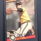 JAY HOWELL SIGNED 1986 DONRUSS ACTION ALL STAR AUTOGRAPH BASEBALL CARD