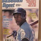 BASEBALL DIGEST BO JACKSON COVER SEPTEMBER 1989