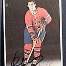 CLAUDE LaROSE MONTREAL CANADIEN SIGNED AUTOGRAPH PICTURE POST CARD 1972