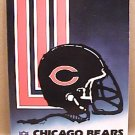 1988 CHICAGO BEARS FOOTBALL MEDIA GUIDE BOOK DENT, McMAHON DITKA HAMPTON