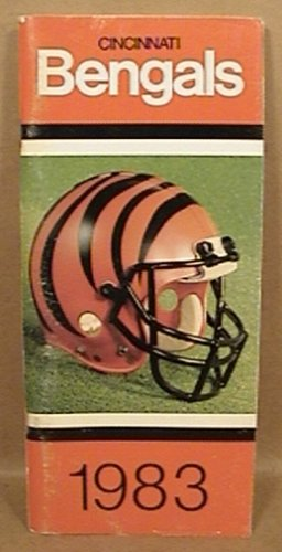1983 CINCINNATI BENGALS FOOTBALL MEDIA GUIDE COLLINGSWORTH GRIFFIN ANDERSON GREGG