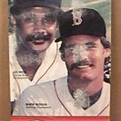 1984 BOSTON RED SOX BASEBALL MEDIA GUIDE BOGGS RICE