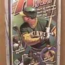 1986 OAKLAND ATHLETICS BASEBALL MEDIA GUIDE CANSECO BAKER KINGMAN