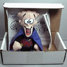 WALLY WARHEAD ADVERTISING PREMIUM BEANIE DOLL 1998 NEW IN BOX MAIL IN PREMIUM