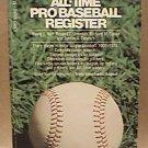 THE COMPLETE ALL TIME PRO BASEBALL REGISTER PAPERBACK BOOK GROSSET & DUNLAP 1976