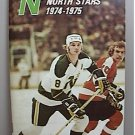 MINNESOTA NORTH STARS 22 AUTOGRAPHED SIGNED FACT YEAR BOOK NHL 1973 1974 HOCKEY