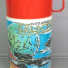 THERMOS BATTLESTAR GALACTICA 1978 ALADDIN VINYL SCIENCE FICTION TV SHOW