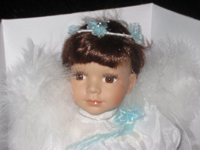 "KEEPSAKE rotating angel musical doll, new in the box, 12"""