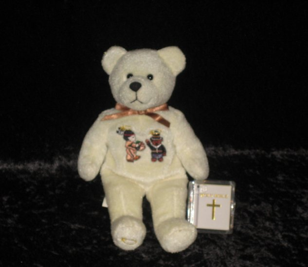 """""""HOLLY BEAR"""" stands 9"""""""