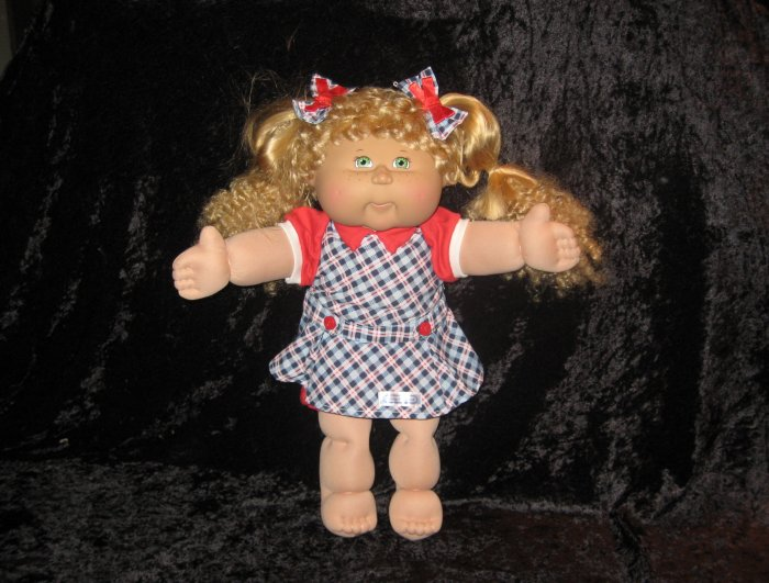 Cabbage patch kids doll, hard to find, 17 inches