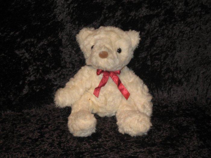 """Russell Berrie Bear, White, 10"""""""