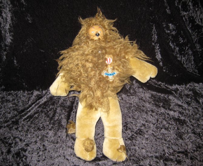 THE LION from the Wizard of Oz, 1987 edition, 14 inches