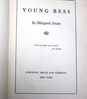 Young Bess by Margaret Irwin 1945