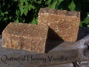 Oatmeal Honey Vanilla Soap