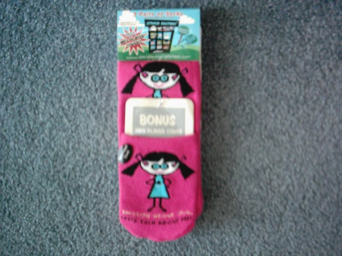 NEW David & Goliath Stupid Factory Socks Lot