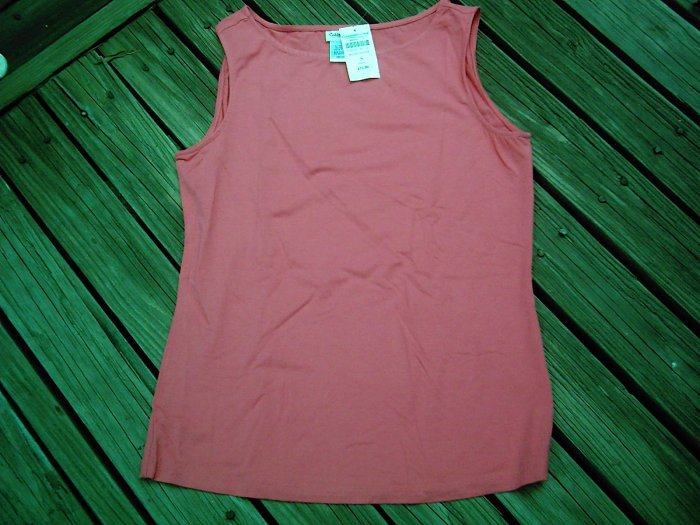 NEW Coldwater Creek Pink Tank Top Size Small