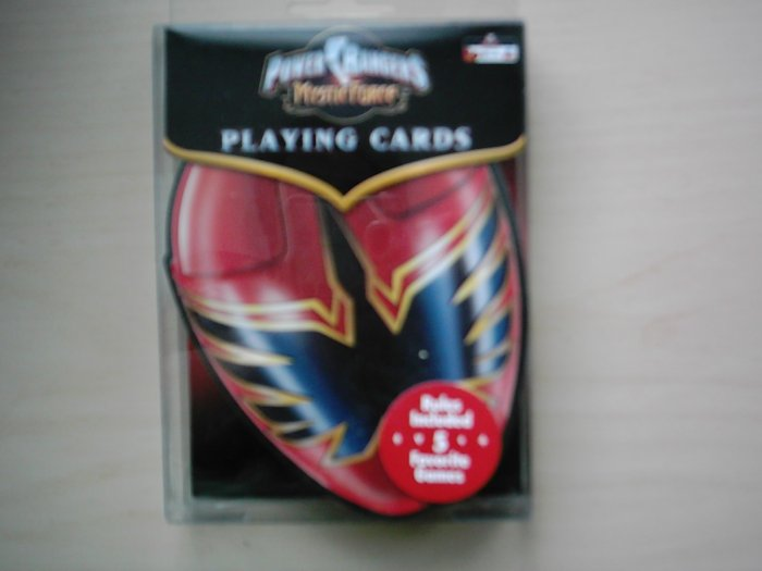 New Power Rangers Mystic Force Deck Playing Cards