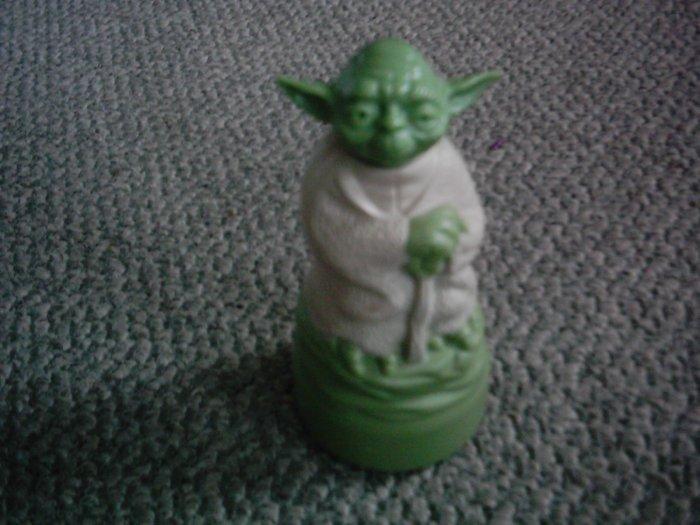 Star Wars Yoda Bubble Bath Figure container Omni FULL!
