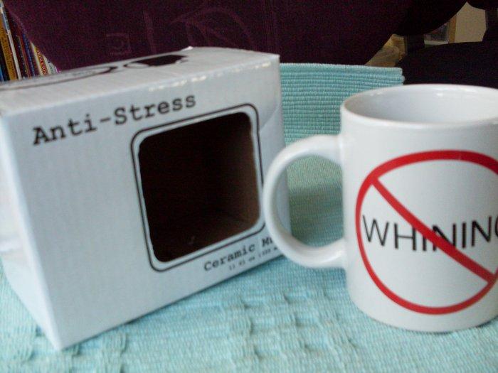 NEW Anti-Stress No Whining Ceramic Mug The Office