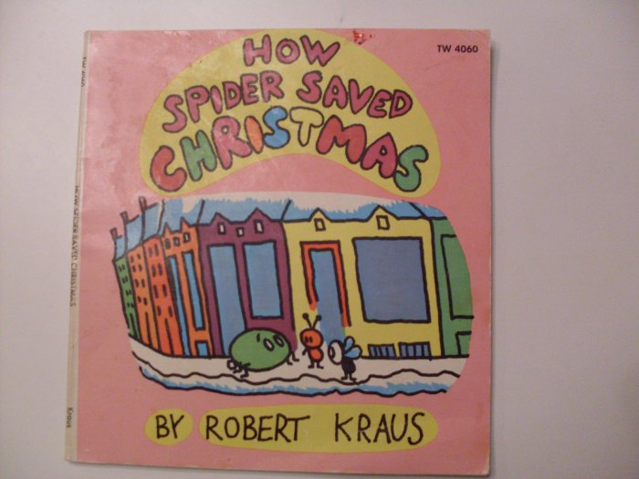 How Spider Saved Christmas 1970 Paperback book SBS