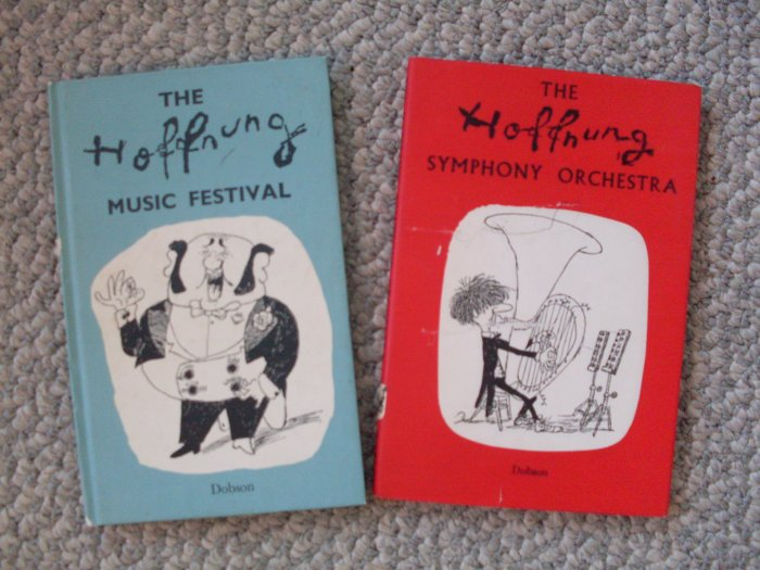 Lot 2 Books Hoffnung Music Festival Symphony Orchestra