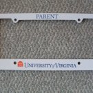 NEW UVA Parent License Plate Frame Virginia Cavaliers