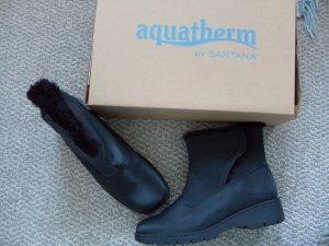 NEW Aquatherm Black Winter Boots 7.5 W by Santana