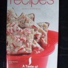 A Taste of Tupperware Recipes Cookbook Holiday Edition