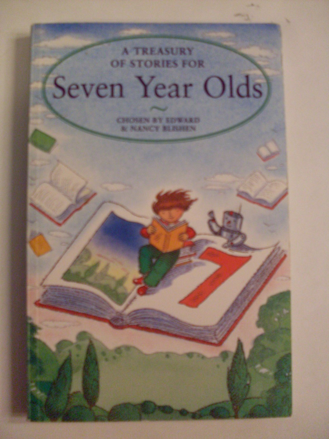 PB Book A Treasury of Stories for Seven Year Olds
