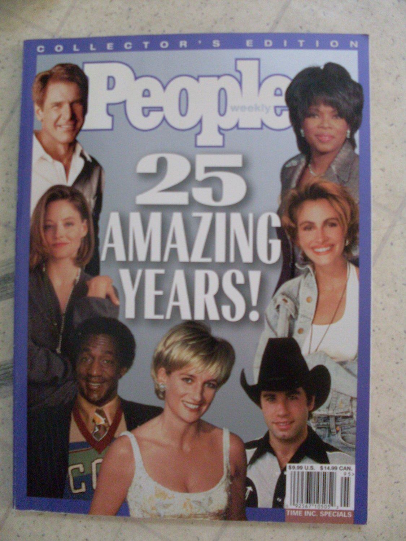 People Weekly Magazine 25 Amazing Years! collectible 1999