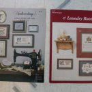 Cross Stitch Booklets Laundry Room & Needleworkings
