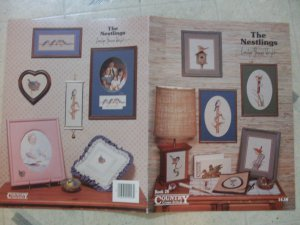 Birds Cross Stitch Leaflets Nestlings & Country Diary