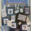Cross Stitch Booklet Snowmen There's No Business Like Snowbusiness