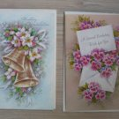 Lot 6 Vintage A Sunshine Card greeting cards Birthday Anniversary Baby Wedding