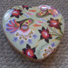 Heart Shaped Trinket Box Brighton Tin